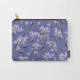 Bluebells and Busy Bees Carry-All Pouch