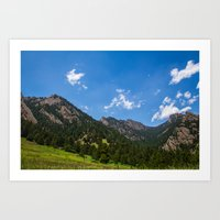 Sunny Days in Colorado Art Print