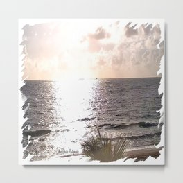 Sunrise at Lauderdale-By-The-Sea Metal Print