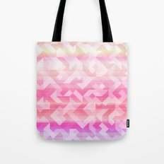 Geometric Sunset Tote Bag