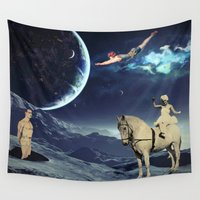 circus Wall Tapestries featuring Circus by Cs025