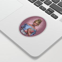 Modern Cinderella Sticker