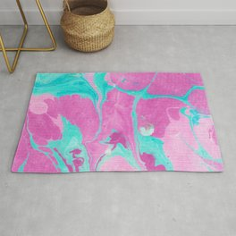 marble no. 6 | lava lamp Rug