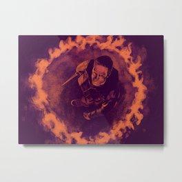 Gadreel Metal Print