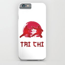 Martial Arts Self Defense Combat Sports Life Is Simple Eat Sleep And Tai Chi Gift iPhone Case