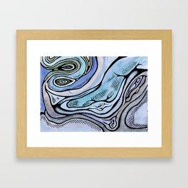 bluemuscle Framed Art Print