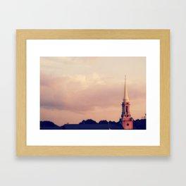 Lawrenceville, Georgia Framed Art Print