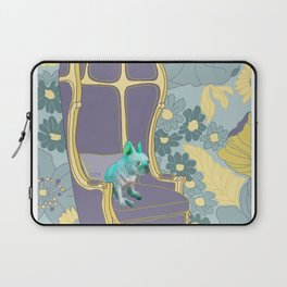 Dog in a chair #4 French Bulldog Laptop Sleeve