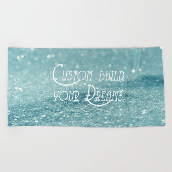Custom Dreams Beach Towel