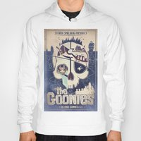 the goonies Hoodies featuring Goonies by Jared Andolsek