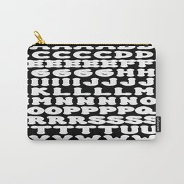 Alphabet Carry-All Pouch