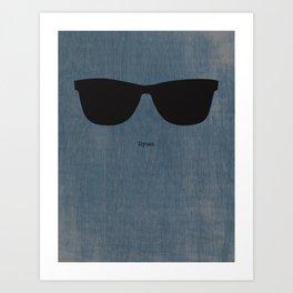 Dylan Shades Art Print