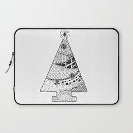 Doodle Christmas Tree Laptop Sleeve