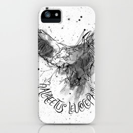FIG. 756 (Haliaeetus leucocephalus) iPhone Case