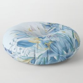 Lovely Spring Crocus Floor Pillow