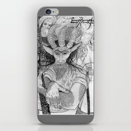 """""""Eh?"""" ~ The Satyr Oarsman At Market iPhone Skin"""