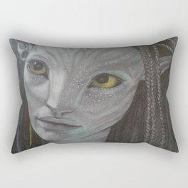 Neytiri from Avatar Rectangular Pillow