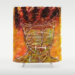 Mental Captivity - Borderline Personality Disorder Shower Curtain