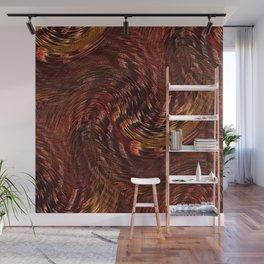 Mixing Copper Metallic Wall Mural