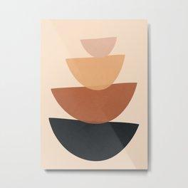 Minimal Shapes No.61 Metal Print