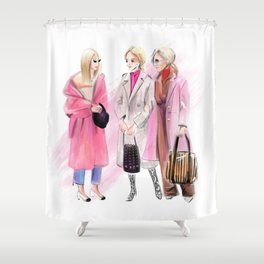 Streetstyle no 28 Shower Curtain