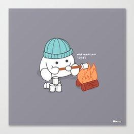Marshmallow Toast Canvas Print