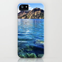 Crater Lake 1 iPhone Case