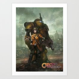 Partners in Time  Art Print