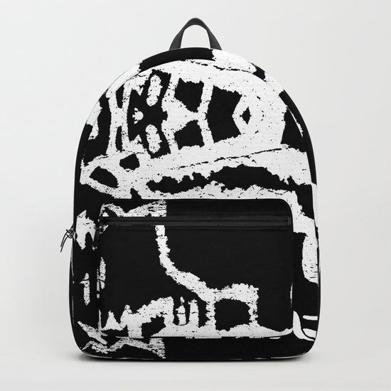 ghost white Backpack
