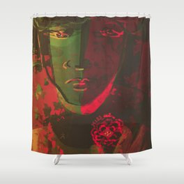 Stay Wild and Kiss Me Shower Curtain