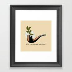 The Treachery of Seagulls Framed Art Print