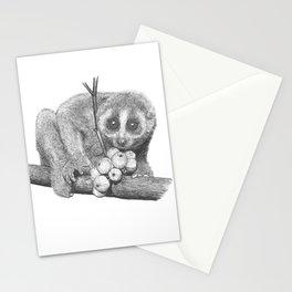 Slow Loris (Kera Duku) Stationery Cards