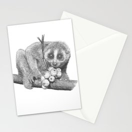 Slow Loris (Kera Duku) Stationery Cards