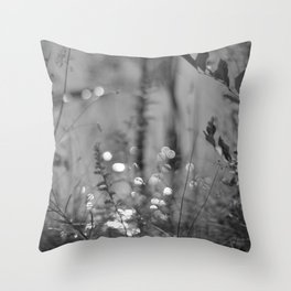 Summer Afternoon by the Pond in New Hampshire Throw Pillow
