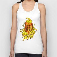 mad Tank Tops featuring Mad by Demonigote