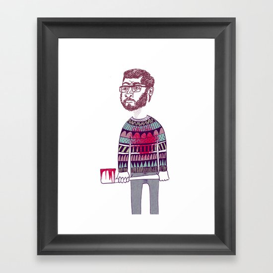 """""""Before It Was Cool"""" Framed Art Print"""