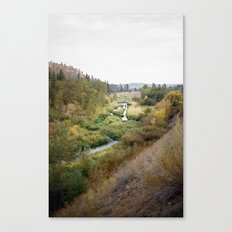 SPOKANE SEPTEMBER Canvas Print