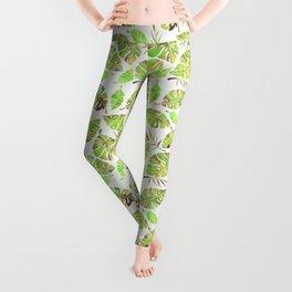 Tropic Fever —Greenery Version Leggings