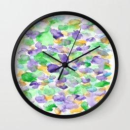 150725 My Happy Bubbles 25 Wall Clock