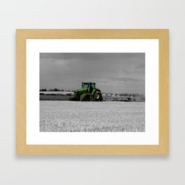 Working the Fields Framed Art Print