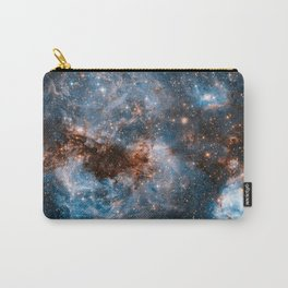 Into The Storm, Galaxy Background, Universe Large Print, Space Wall Art Decor, Deep Space Poster Carry-All Pouch