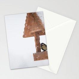 Parus Major bird Stationery Cards