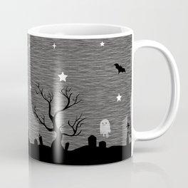 Spoopy Cemetery Print Coffee Mug