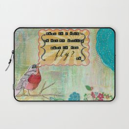 What If You Fly? Laptop Sleeve