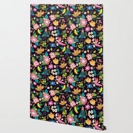 The floral floresta Wallpaper