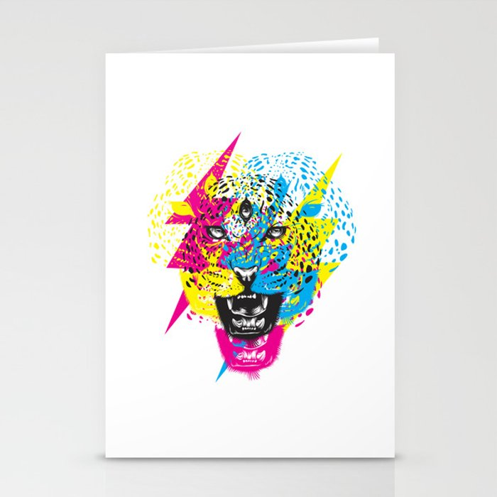 Wild Meow by Julao Stationery Cards