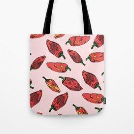 Red Hot Tote Bag