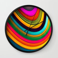 More Curve Wall Clock