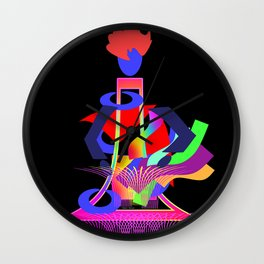 A MASTER CRAFTS PERSON Wall Clock
