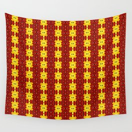 """""""A Gathering of Lilies"""" Remix - 1 (1-1) [D4465~12] (Addendum) Wall Tapestry"""